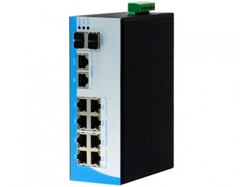 12 Ports Unmanaged Industrial Fiber Switch Shenzhen Hong